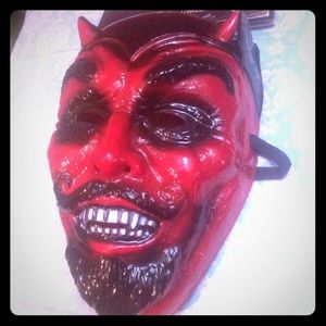 Accessories - Satan gothic occult mask Halloween cosplay